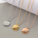 Rose gold necklace designs 2016 lucky charms necklace lucky brand jewelry