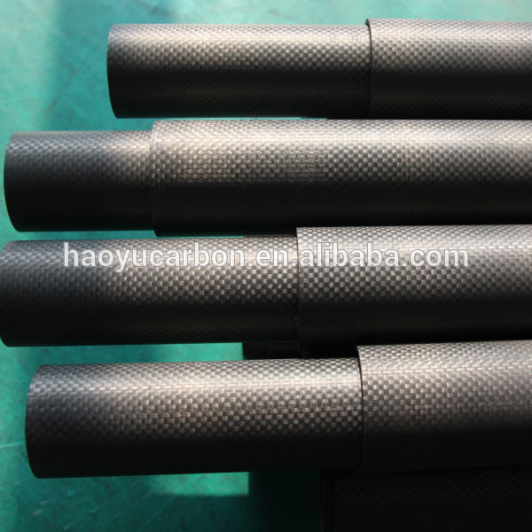 Carbon Fiber Telescopic Pole Carbon Fiber tube
