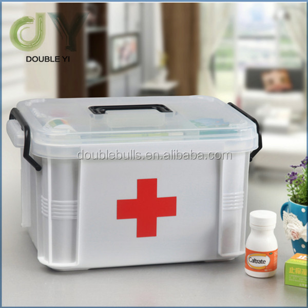 Top quality plastic eco-friendly medicine storage for home