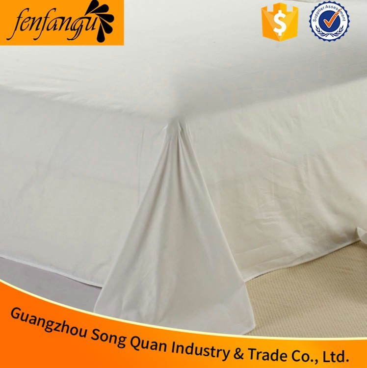 hospital bed linen with white cotton bed <strong>sheet</strong> and bed cover made in china