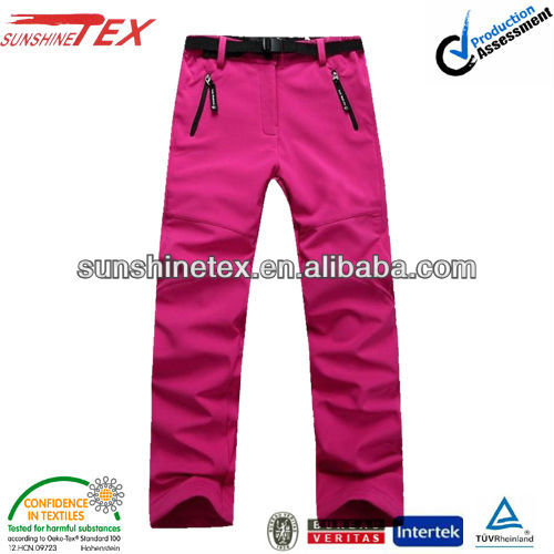 Women's winter warm pants waterproof windproof hiking pans(13K-011)