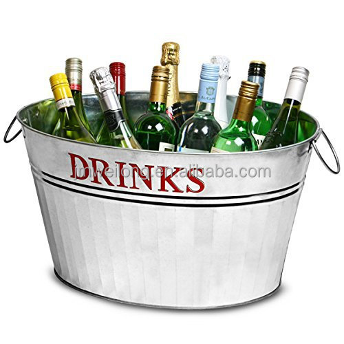 drinks party beer beverages oval plastic ice metal canned of tubs cheap tub a with red bucket bulk galvanized and cooler beverage bottled selection drink shop for at wedding