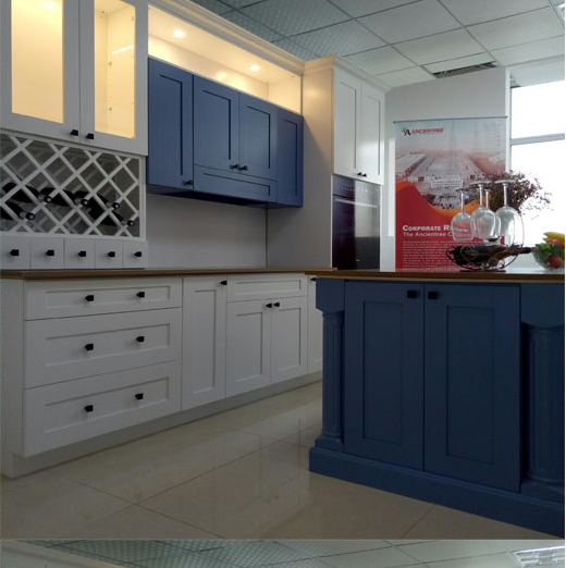 Ready To Assemble Factory Direct Solid Wood Kitchen
