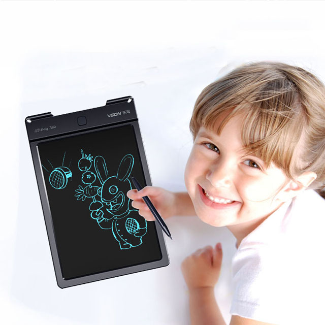 LCD writing tablet 8.5 thin inch pad write board digital for leave a note message board e-writer Electronic Tablet For Kids