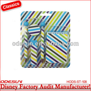 Disney factory audit manufacturer's eco stationery set149210