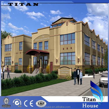 Light Steel Frame Fabricated School Building Projects In Best Price