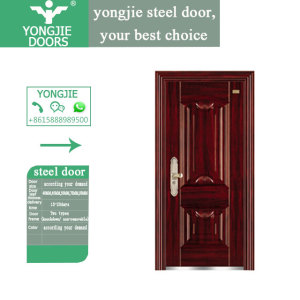 door for project steel sheets galvanized door mexin steel door