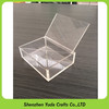tabletop unique custom clear candy plastic candy container wholesale transparent acrylic candy box basket with dividers cheap