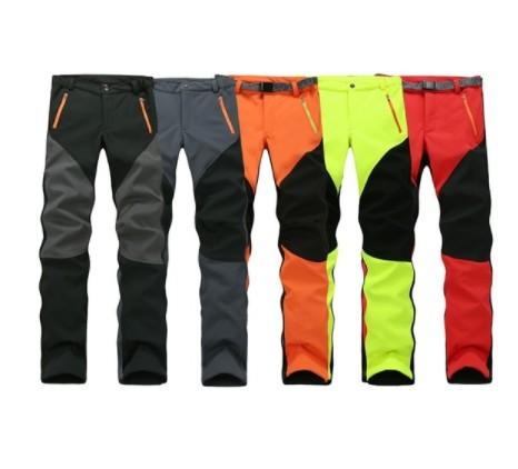 קמפינג טיולי החורף חיצוני ספורט מכנסיים חם עמיד למים צמר Windproof דיג מכנסיים גברים נשים טיפוס