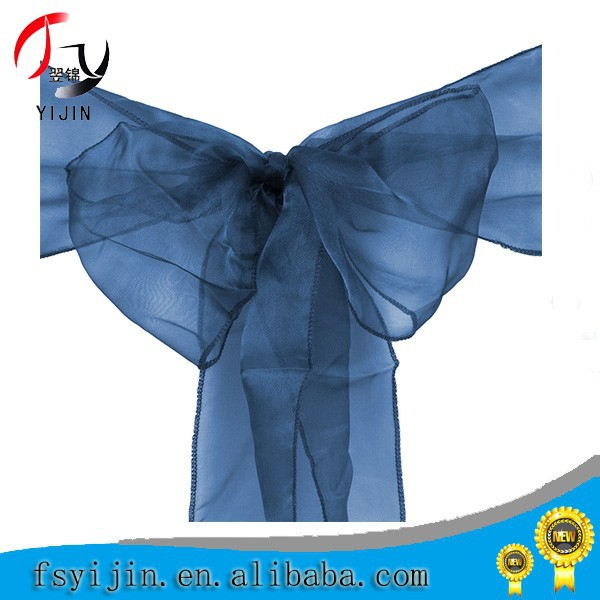 cheap wholesale decoration taffeta chair sashes
