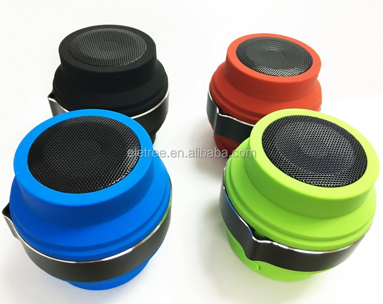 powerful round wireless mini portable waterproof flexible bluetooth speaker Q01