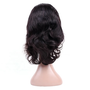 Wholesale Cheap Human Hair Full Lace Wig Natural Glueless Brazilian Human Hair Body wave wig