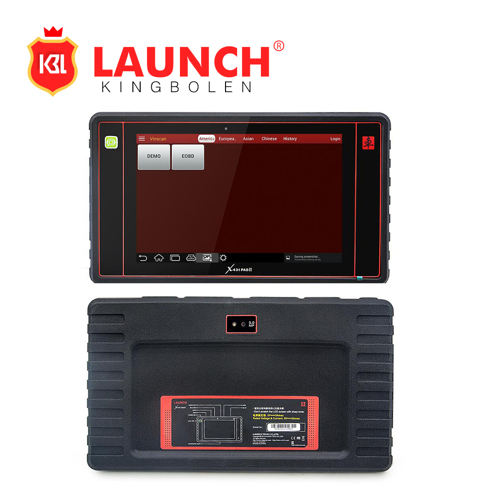 On Promotion New Launch X-431 PAD II 100% Original WiFi&Bluetooth Universal Diagnostic Scanner Free Update X431 PAD 2