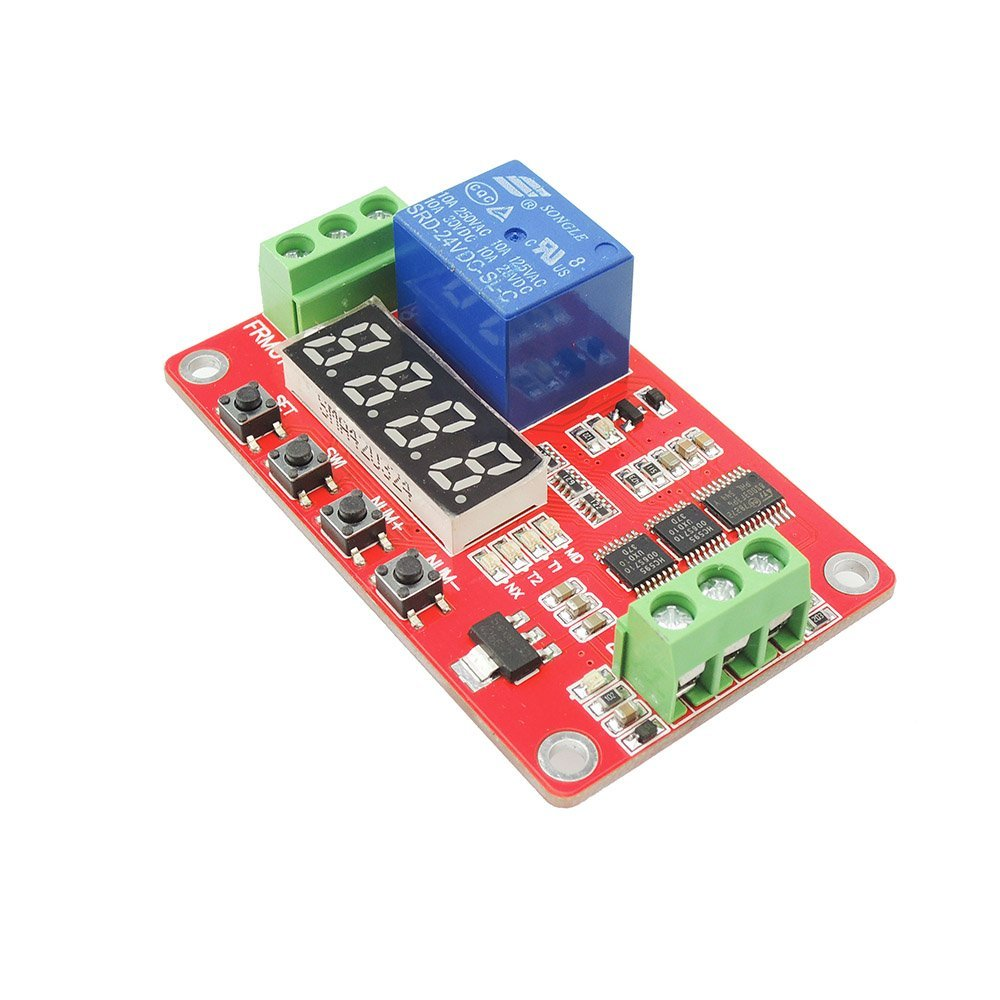 Cheap Lock Relay Find Deals On Line At Alibabacom Power Switch Get Quotations Uniquegoods 24v Dc Multifunction Self Plc Cycle Timer Module Delay Time