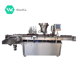 Automatic 30ml glass dropper bottle filling and capping machine