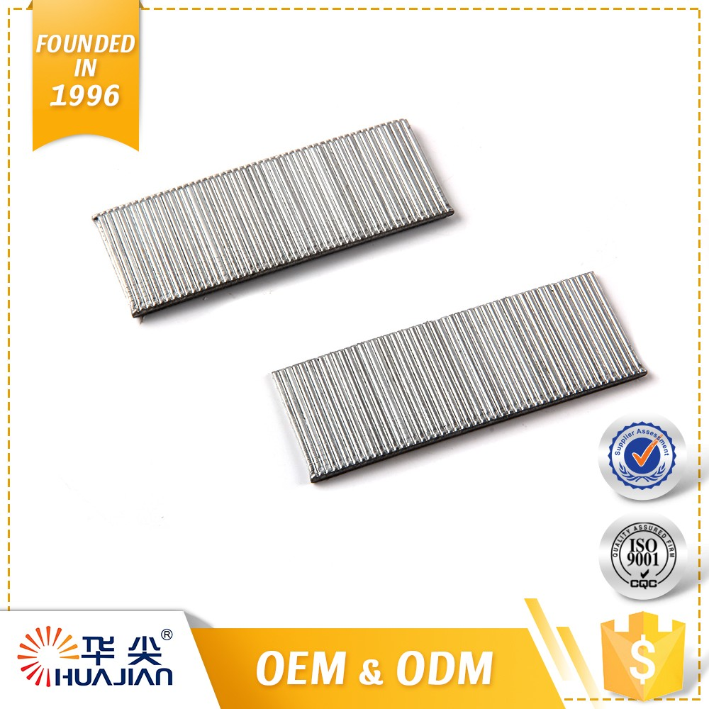 Stainless Steel 30mm Flooring Nail Silver 16Ga T Brads Nails