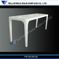 2013 TW Exclusive and Unique Design pure white pub commercial cocktail bar table