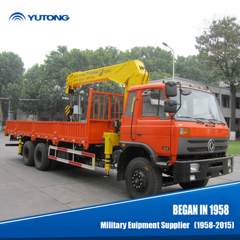 China Hot Sale 10 Ton Truck Mounted Mobile Crane