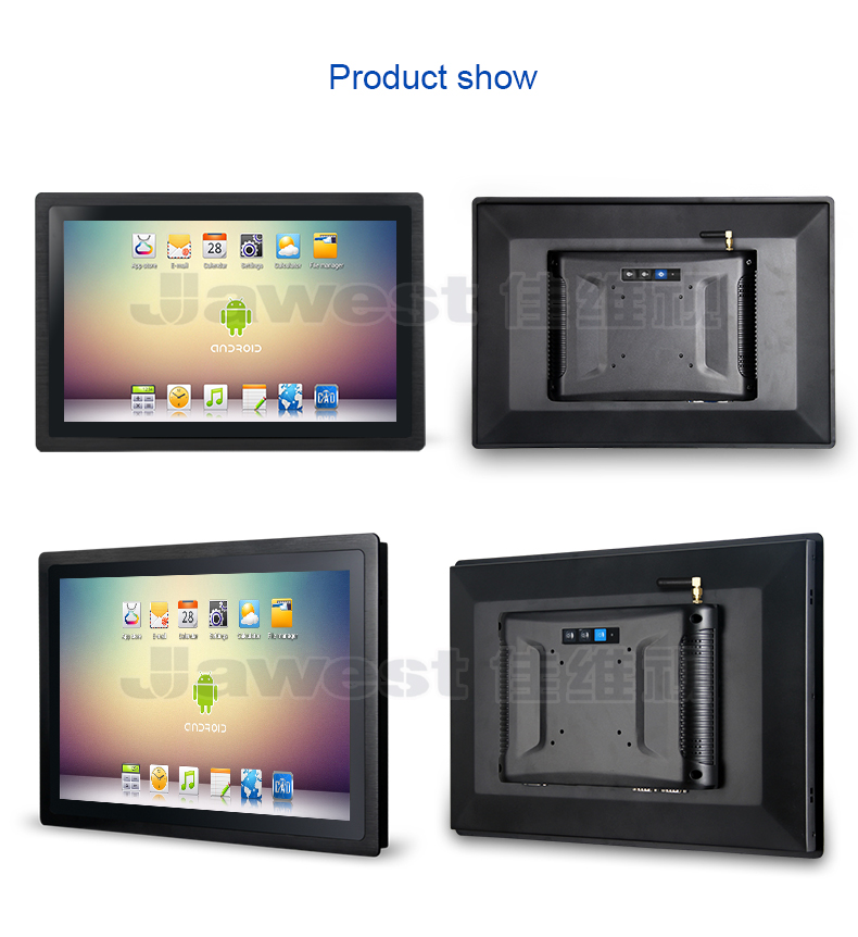 Rugged IP65 Waterproof & Dust-proof 19 inch Industrial All In One Android Touch Screen Tablet Panel PC