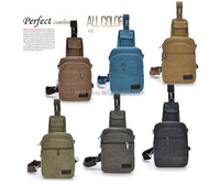 High Quality Man's chest bag sling bag one shoulder strap triangle backpack Men travel Casual Outdoor Canvas Convenien Chest Bag