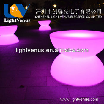 Rechargeable top quality led bar table