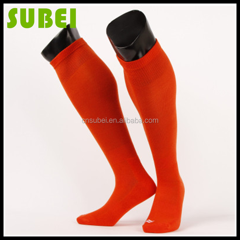 2015male knee-high summer ultra-thin football scoks,towel thicken bottom socks to reduce vibration