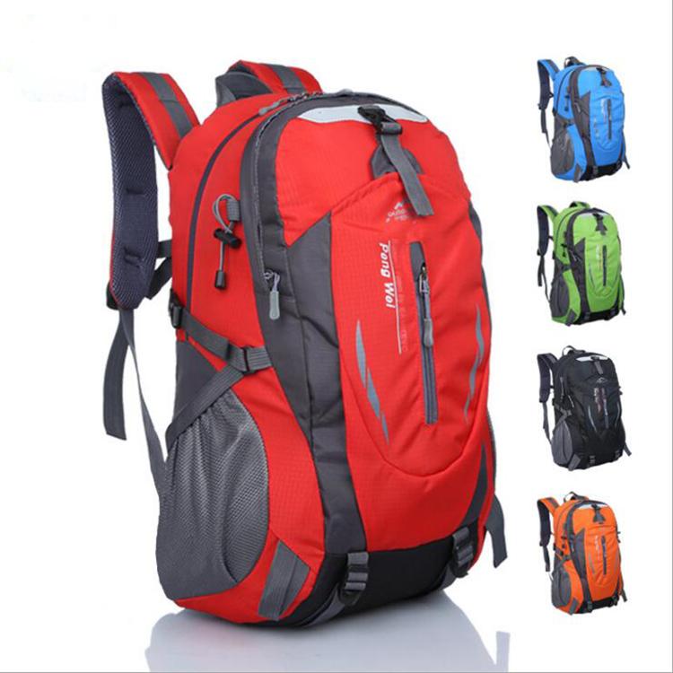 Многофункциональный Фабричный водонепроницаемый спортивный легкий складной рюкзак для кемпинга и пешего туризма