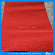 Popular luxury design commercial rib carpets trade show carpet and flooring
