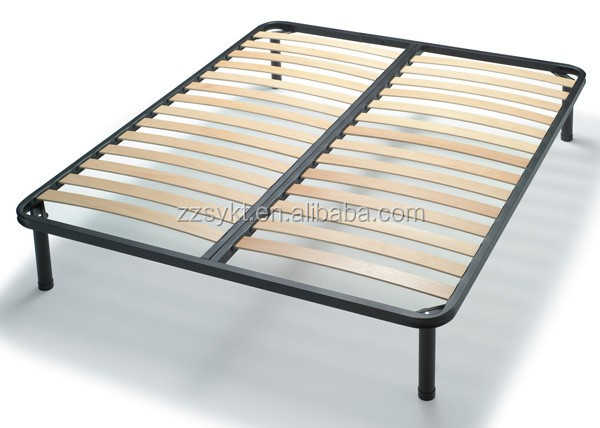 Handy Living Queen Size Mattress Foundation Metal Wood Slat Bed Frame Buy W