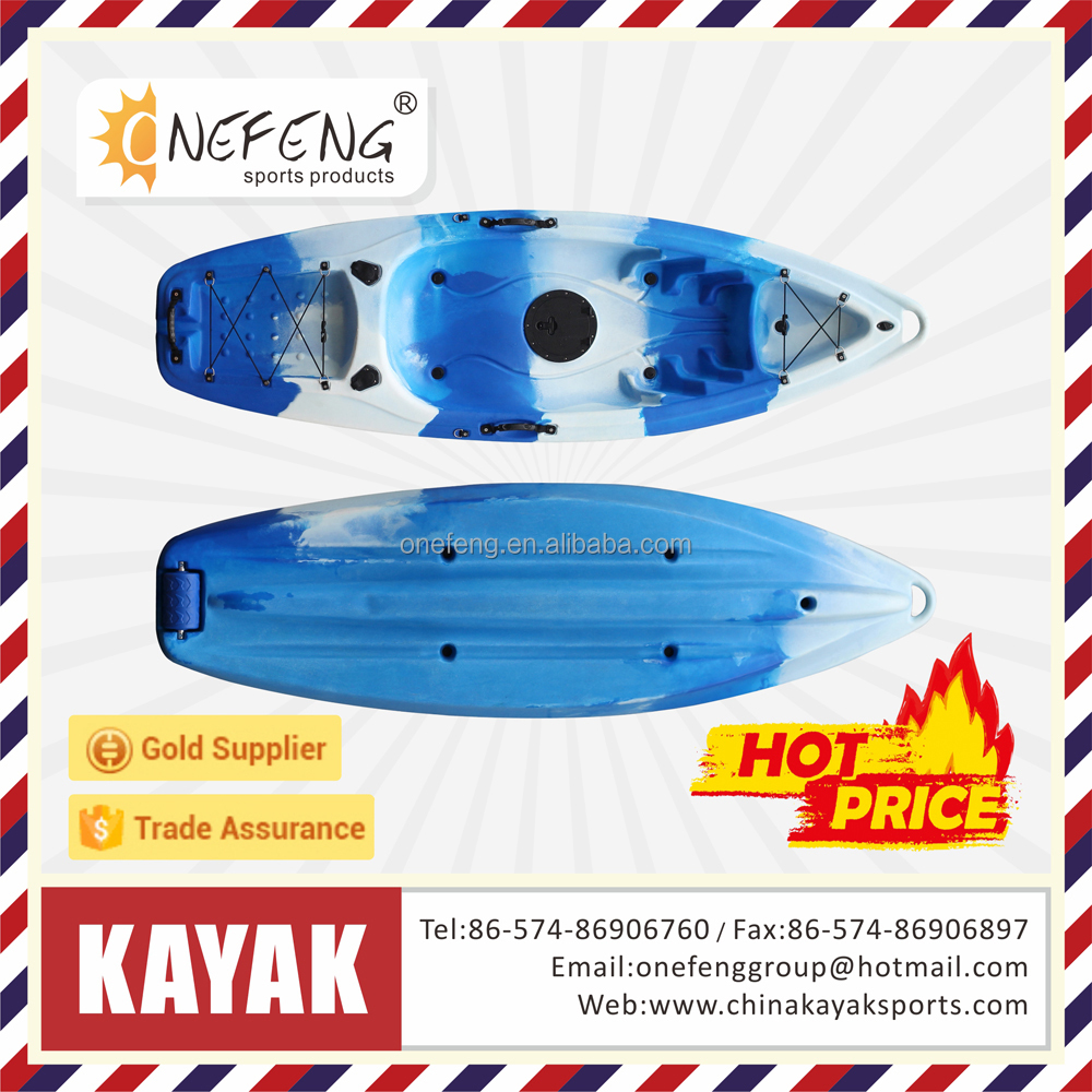 plastic-LLDPE kayak Fishing lighter cheap Kayak /Canoe a person kayak