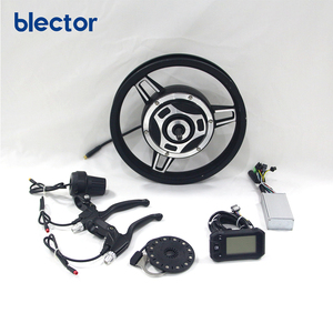 48V 350W 18 Inch DIY Electric Bike Conversion Kits Waterproof Ebike Parts Factory Directly