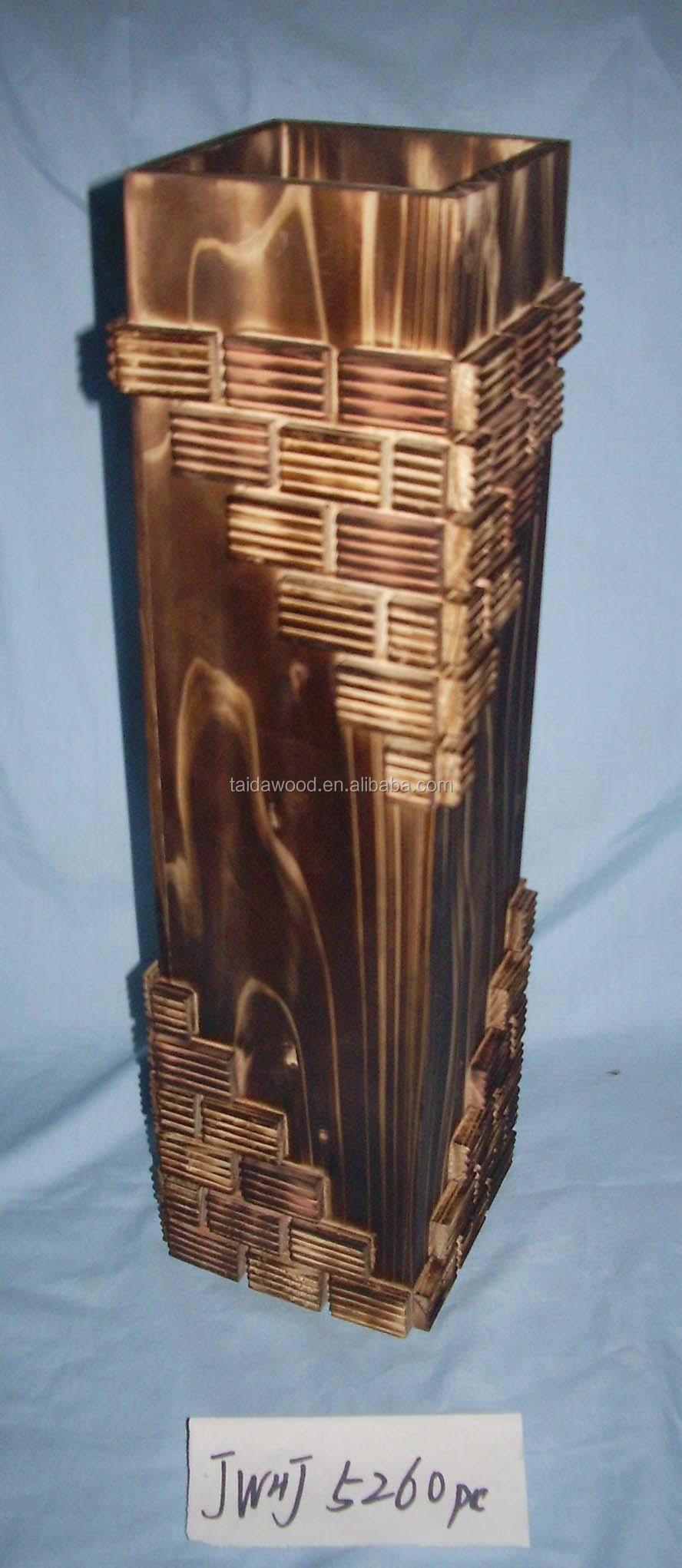 Wooden flower vase vase wood wooden vase flower wholesale fashion wooden flower vase vase wood wooden vase flower wholesale fashion atmosphere floridaeventfo Images