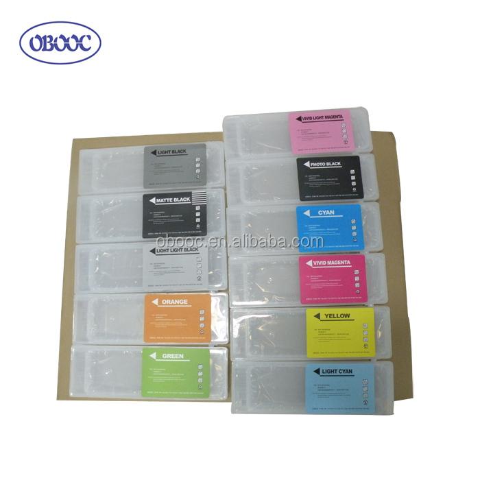 Wide Format Cartridge T6537 Compatible for Epson 4900 Pigment Light Black Ink