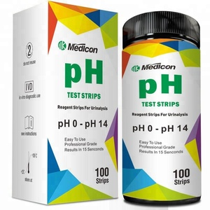 Hot Sell On Amazon USA & UK pH Test Strips, pH Test Paper 0-14 for Urine & Saliva