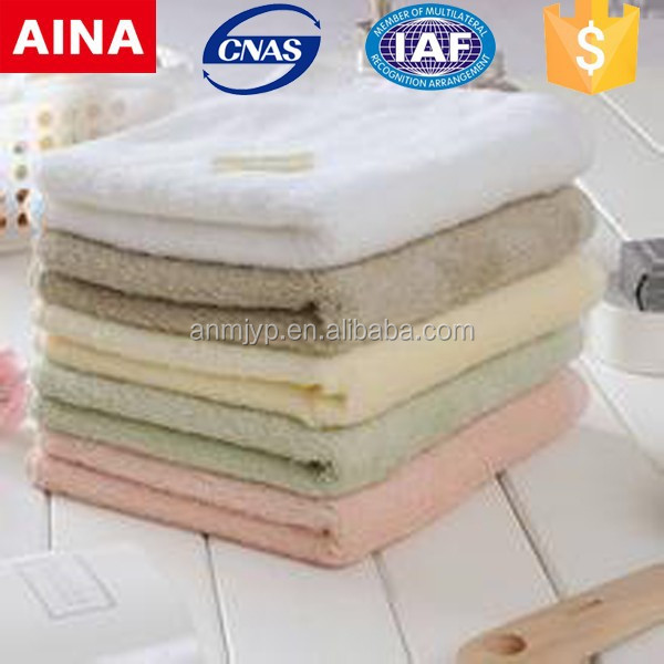 Professional made cheap price 100% cotton plain white salon and spa towels