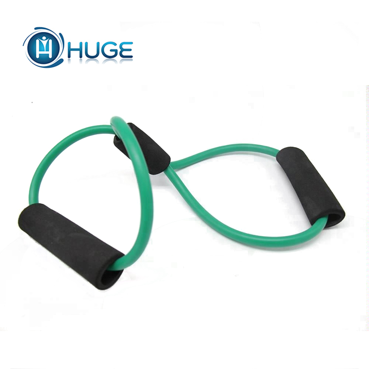 Yoga Chest Back Training Fitness Resistance Band/8 Shape Tube Resistance Elastic Band