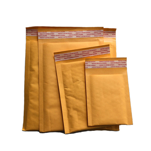 Accept oem order kraft bubble mailers paper for packaging