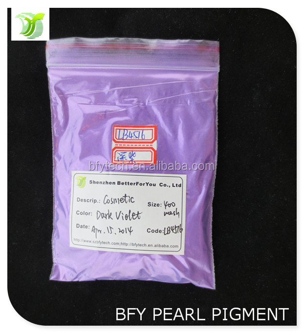 2014 Top Quality Sparkle Violet Pearl Pigment for Cosmetic