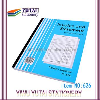 Custom Duplicate Invoice Book PrintingPrint Bill Book Company House - Custom invoice book printing