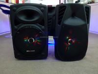 professional speaker hi fi/portable karaoke with trolley/portable wireless ktv karaoke player