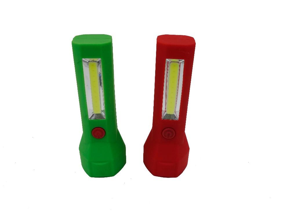 2016 New Mini COB LED Flashlight Pocket Flashlight Super Bright Cob Lights Small COB LED Work Light