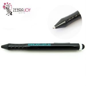 Black according to Design stylus promotional pens custom metal pen