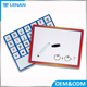 Wholesale Cheap OEM Frameless Magnetic Dry Erase Calendar Letter Notice Writing Board for Children Promotional Gifts