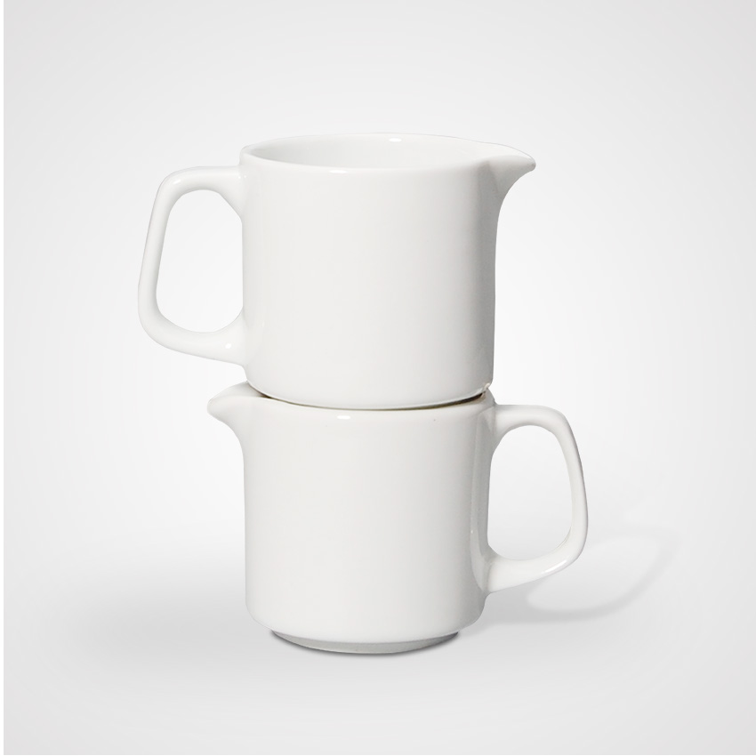 Modern Classic Cheap Microwave Safe Stackable Super White Ceramic Mugs