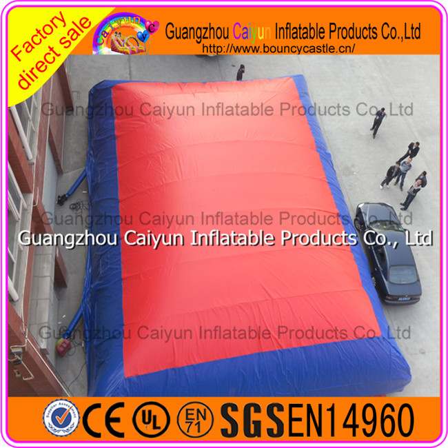 Factory sale big air bag for extreme high jumping event sports
