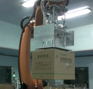 Carton stacking Automatic robotic Palletizer