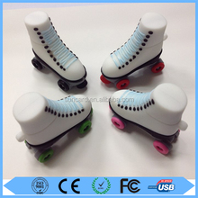 Promotional gifts cartoon roller skate / Ice skate usb flash drive