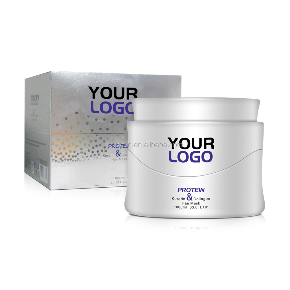 Wholesale Hair-Repairing Protein hair mask with collagen 1000ML
