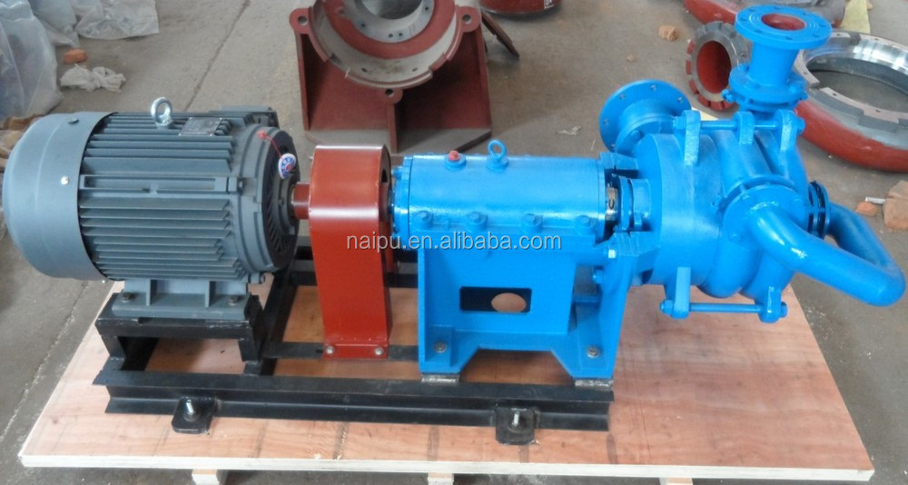 High pressure double impeller filter press pump
