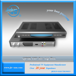 DVB-S2 MPEG4 H.264 HD Decoding Receiver